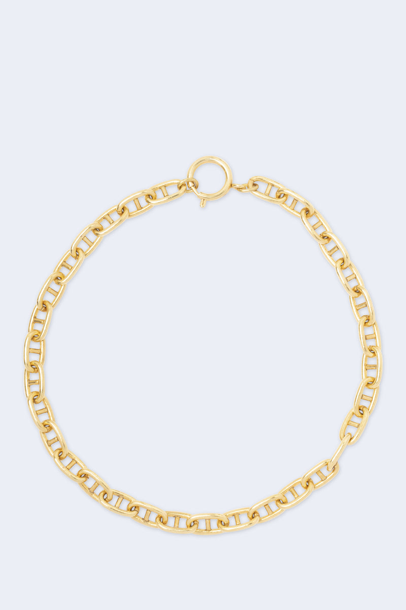 Bella Gold Plated Chain Necklace