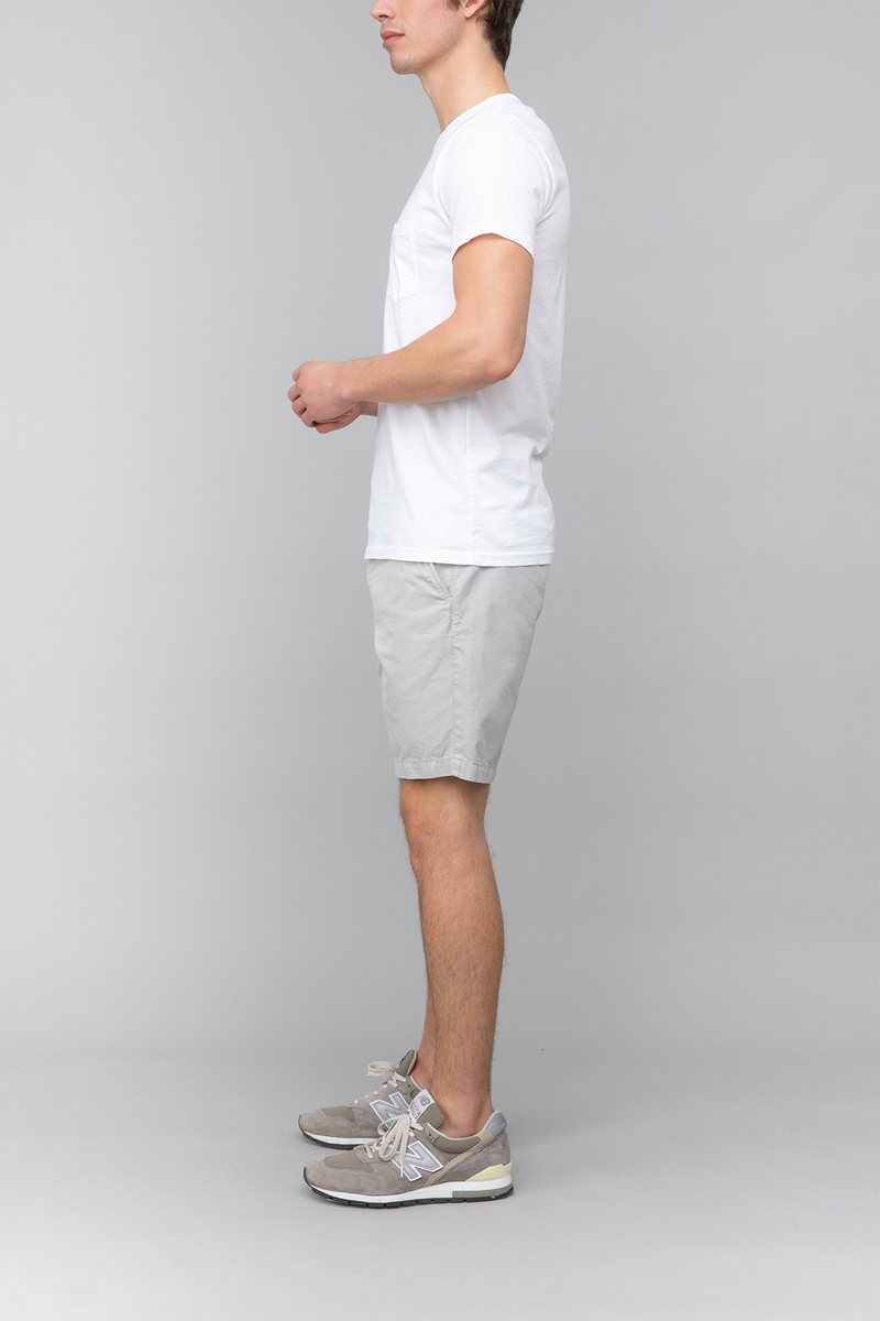 Twill Bermuda Short in Cement