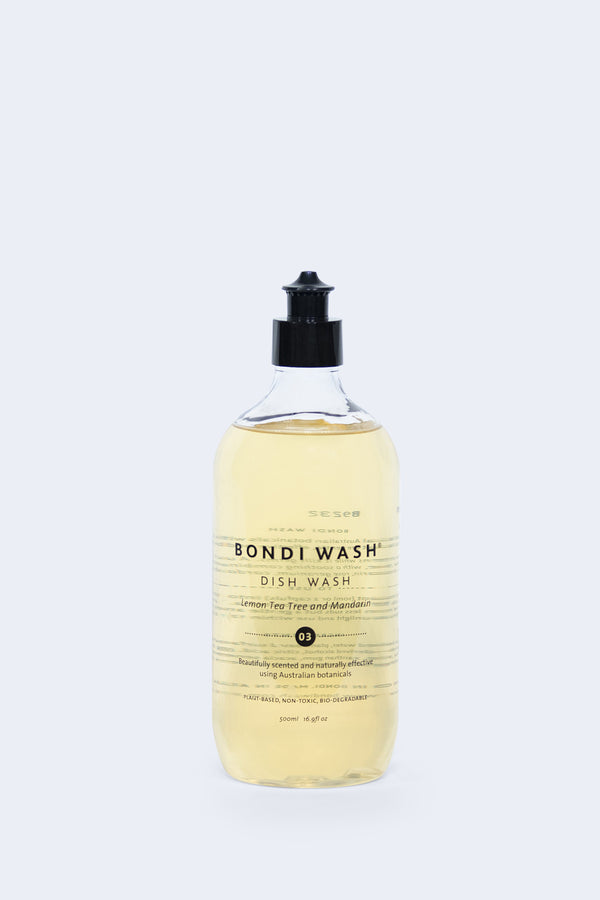 Lemon Tea Tree and Mandarin Dish Wash