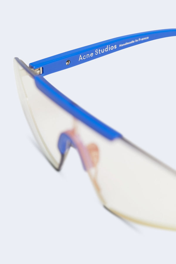 Bornt Sunglasses in Blue & Light Pink