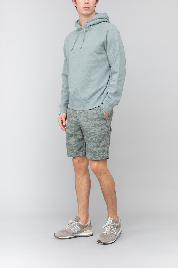 Camo Bermuda Short in Dew