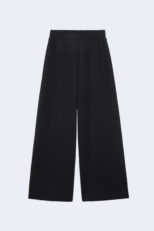 Campbell High Rise Wide Leg Pant in Black