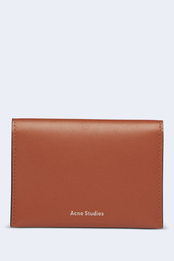 Card Holder Flap in Almond Brown