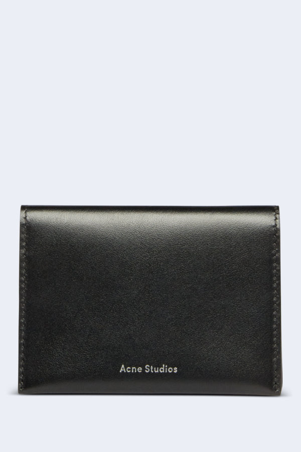 Card Holder Flap in Black