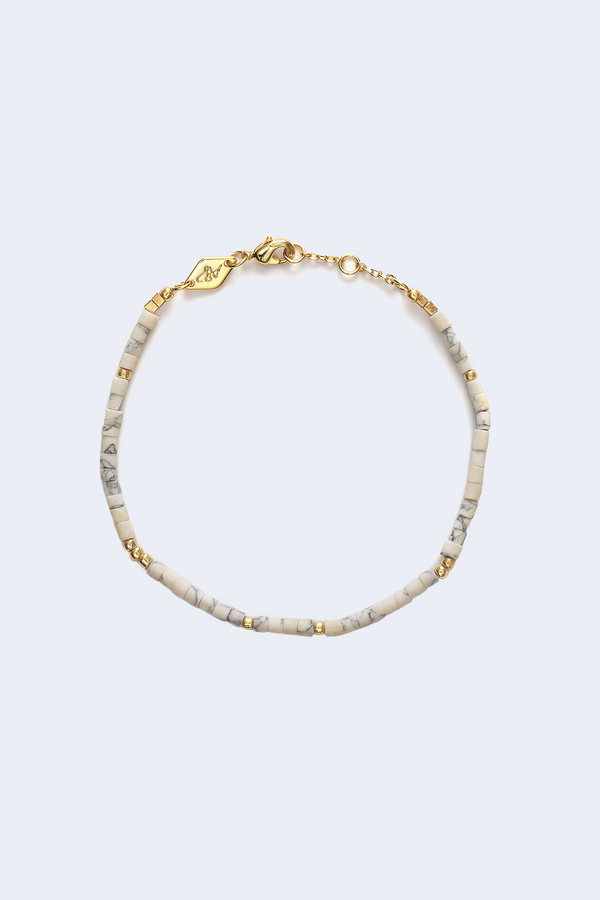 Cloudy Bay Sun Stalker Bracelet in Cream