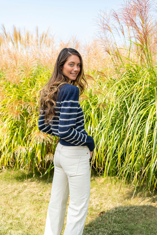 Kleef Pullover in Navy
