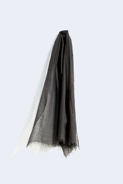 Cashmere Whisper Scarf in Black