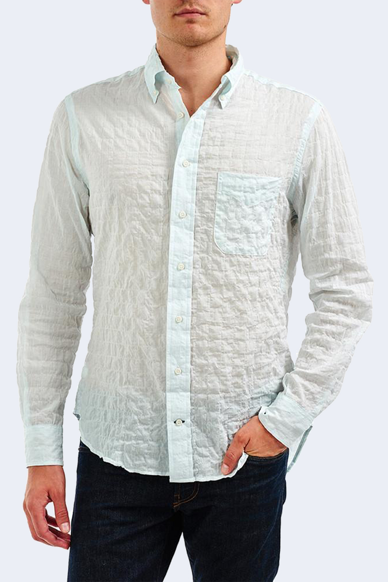 Gitman x TENET Vintage Button Down Shirt in Mint