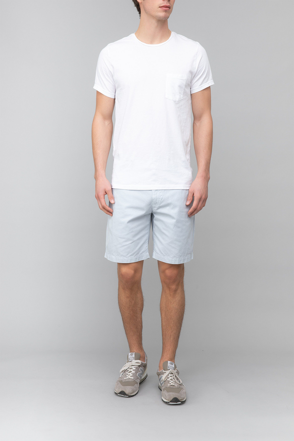 Twill Bermuda Short in Light Blue