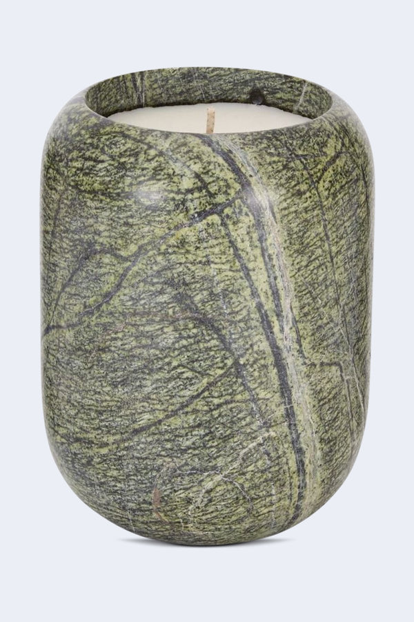 Materialism Stone Candle