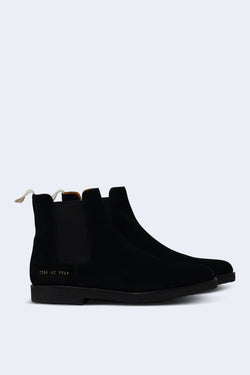Men's Leather Chelsea Boot in Black