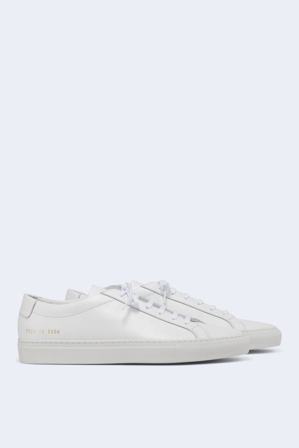 Men's Original Achilles Low Leather Sneaker in White