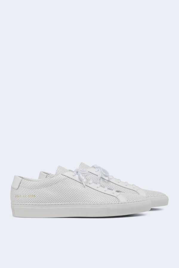 Men's Original Achilles Low Perforated Sneaker in White