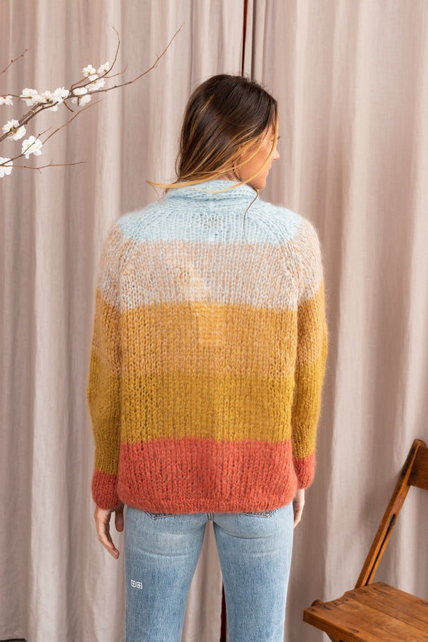 Araucaria Knit Cardigan in Multi