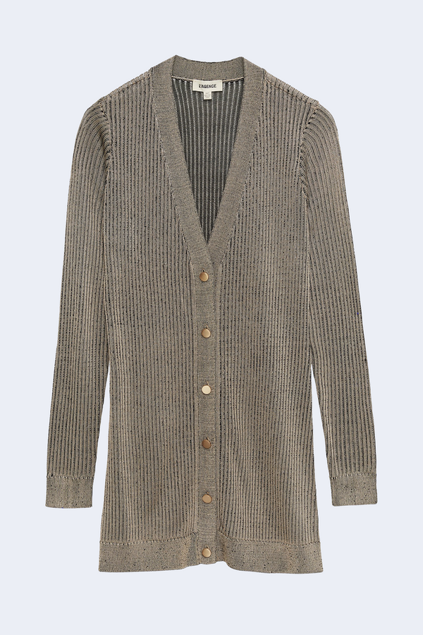 Millie Cardigan in Taupe