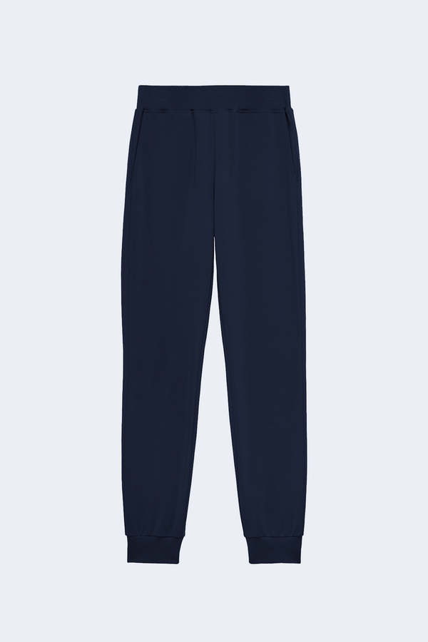 Moss High Rise Jogger Pant in Midnight