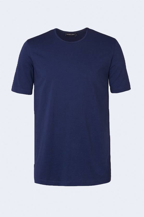 Crew Neck T-Shirt in Navy