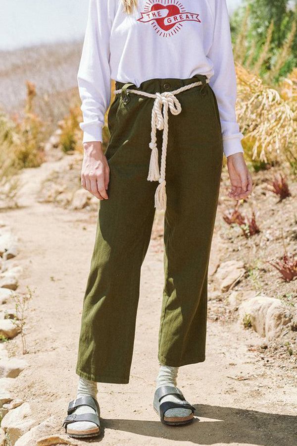 The Highwaist Trouser in Army