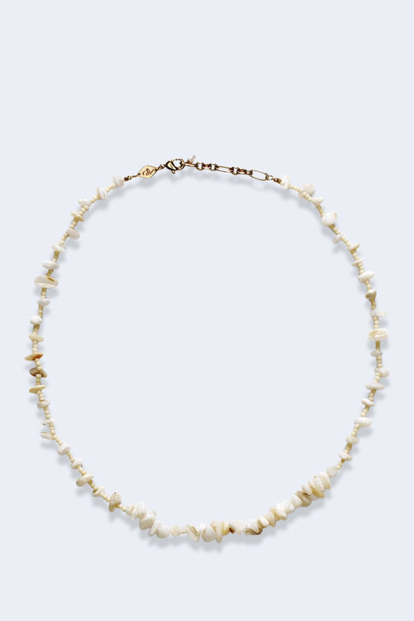 Reef Necklace Cream Pearl