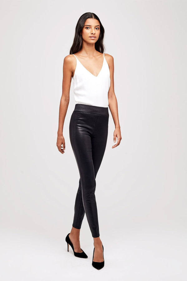 Rochelle Pull On Jean in Black Coated