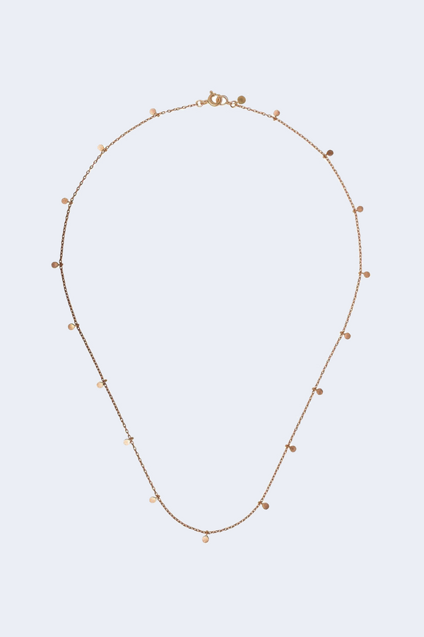 Even Dots 18K Rose Gold Necklace