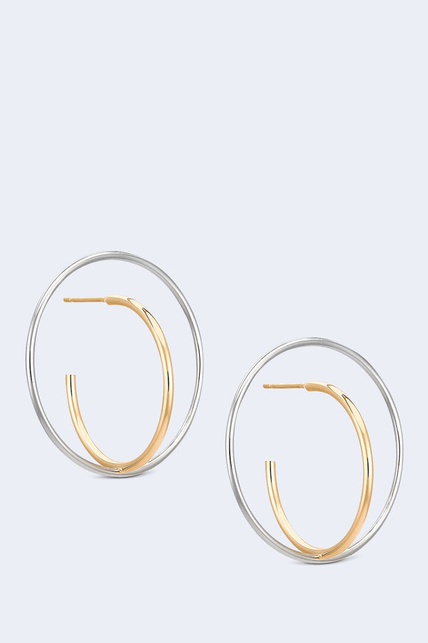 Saturn Medium Earrings