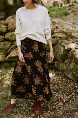 The Frontier Skirt in Winter Floral
