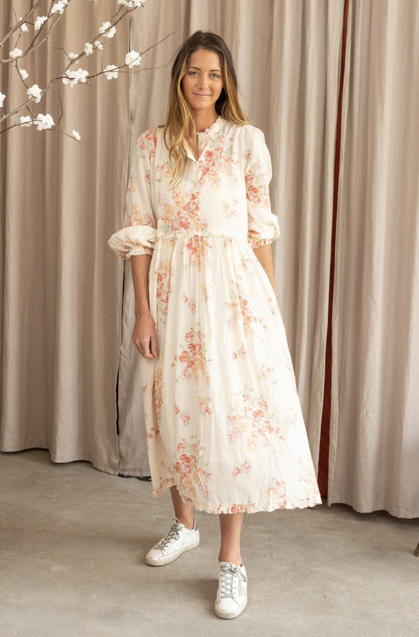 The Fiddle Dress in Hillside Floral