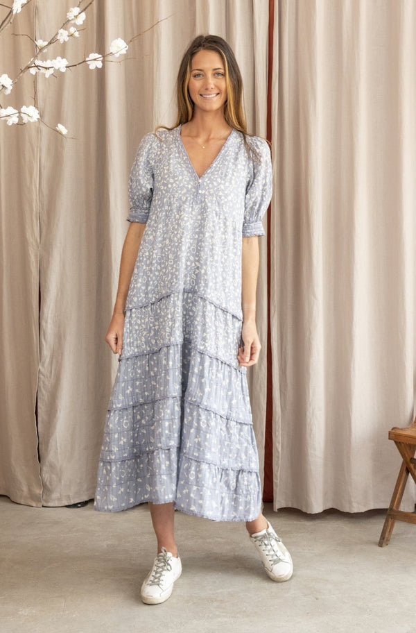 The Yonder Dress in Prairie Floral