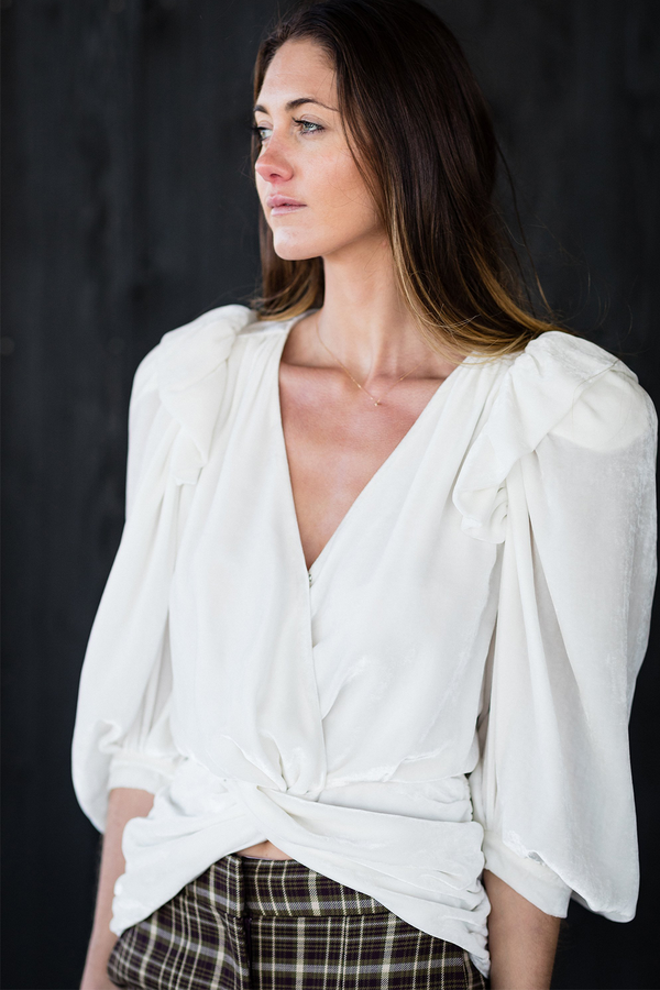 Toledo Blouse in White