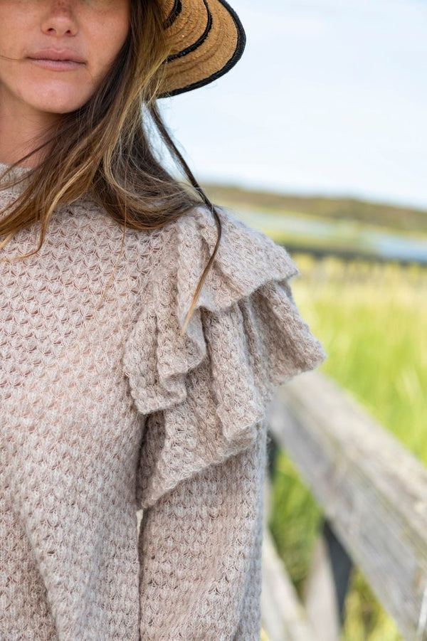 Camilla Pullover in Oatmeal