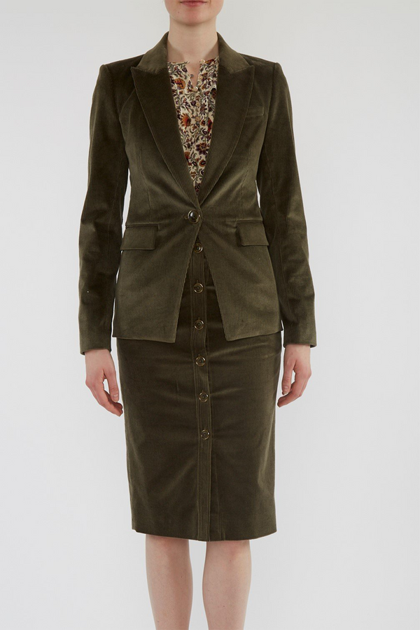 Lia Dickey Jacket in Sage