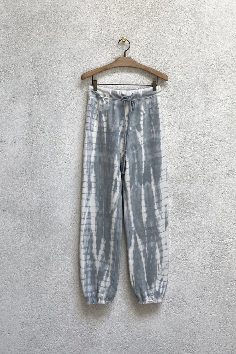 Vintage Fleece Athletic Sweatpants in Dusty Tie Dye