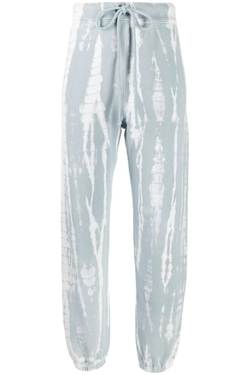 Vintage fleece tie dye sweatpants
