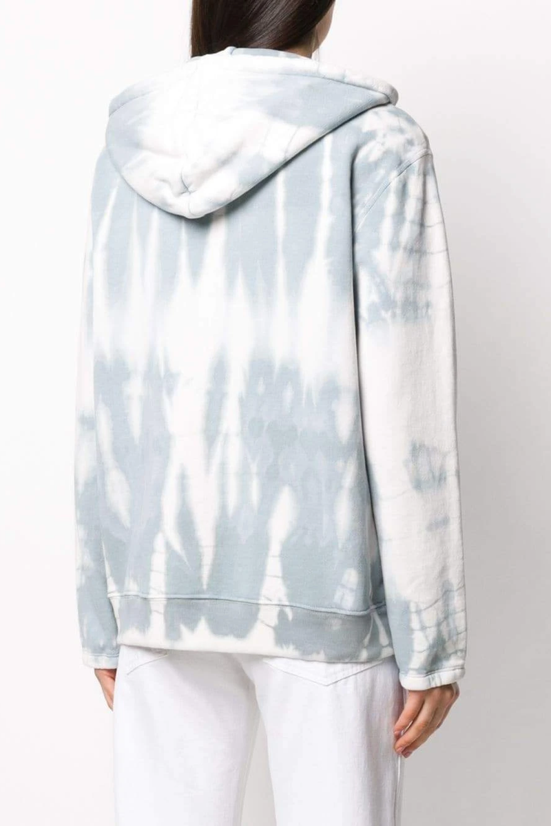 Vintage Fleece Boyfriend Hoodie in Dusty Tie Dye