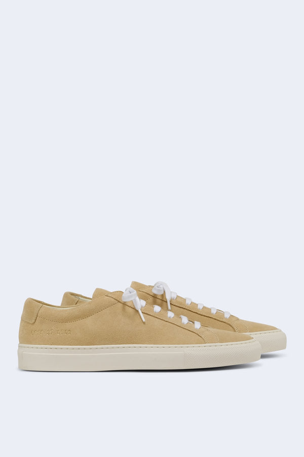 Women's Original Achilles Low Suede Sneaker in Tan