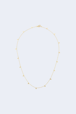 Even Dots 18K Yellow Gold Necklace