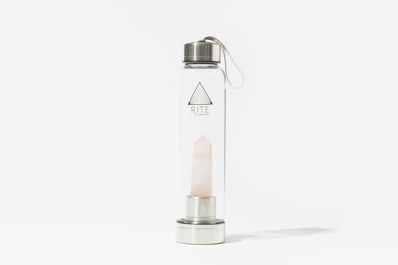 Rose Quartz Bottle