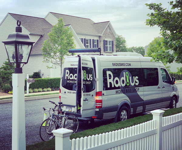 Radius Mobile Bike Shop, Lancaster, PA - Bicycle Repair, Service, Tune Up, Warranty