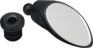 CycleAware Roadie Removable Bar-end Mirror: Black - Radius Bike