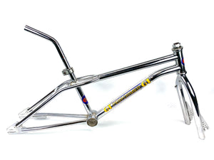 1985 GT Performer Frame Fork 4130 OG Finish Seat Post & Clamp BMX Freestyle