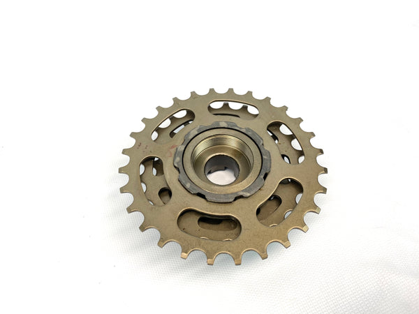 Suntour Alpha 6 Speed 14-28 Freewheel Dated 1988 Made in Japan