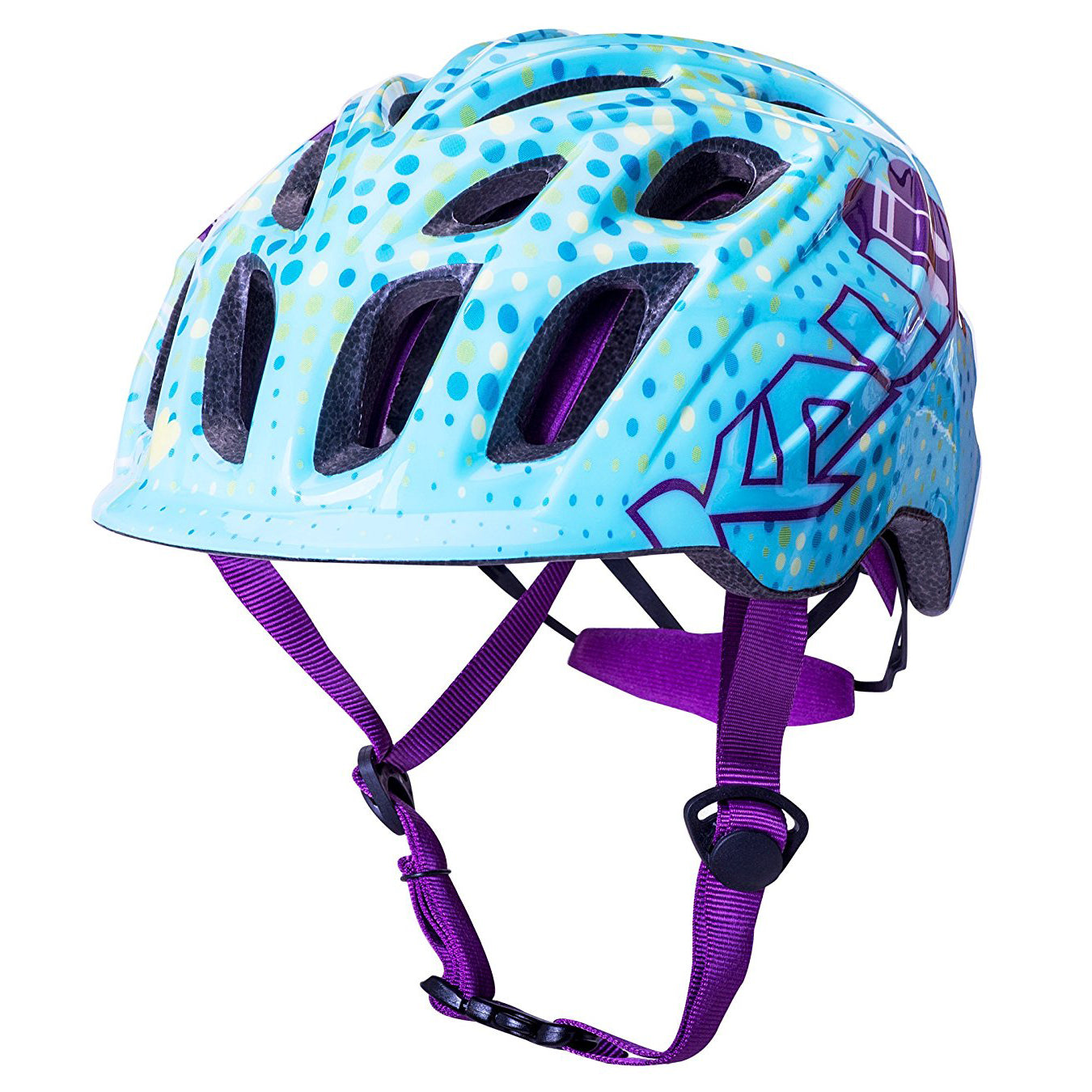 Kali Protectives Chakra Child Helmet:  MELODY BLUE/PURPLE One Size