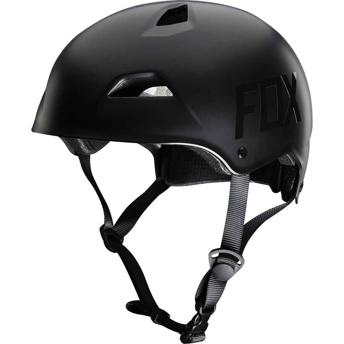Fox Racing Flight Helmet: Matte Black Lrg DJ BMX MTB - Radius Bike