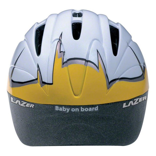 Lazer BOB Infant Helmet: White Egg with Chick, One Size