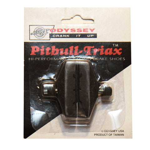 Odyssey Pitbull Triax Brake Pads Black BMX NOS 80s
