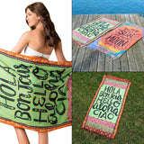 Mandala Boho Beach Towel - Bohemian Moon Boutique
