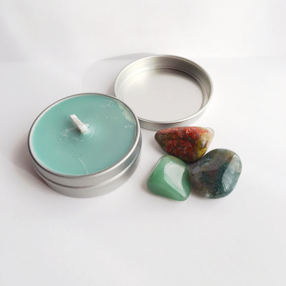 Abundance ~ Soy Intention Candle, Essential Oil - Bohemian Moon Boutique