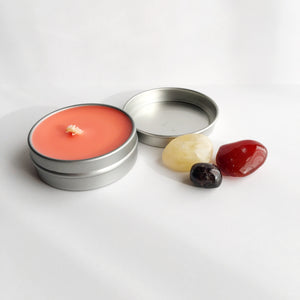 Passion ~ Soy Intention Candle, Essential Oil - Bohemian Moon Boutique