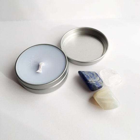 Release ~ Soy Intention Candle, Essential Oil